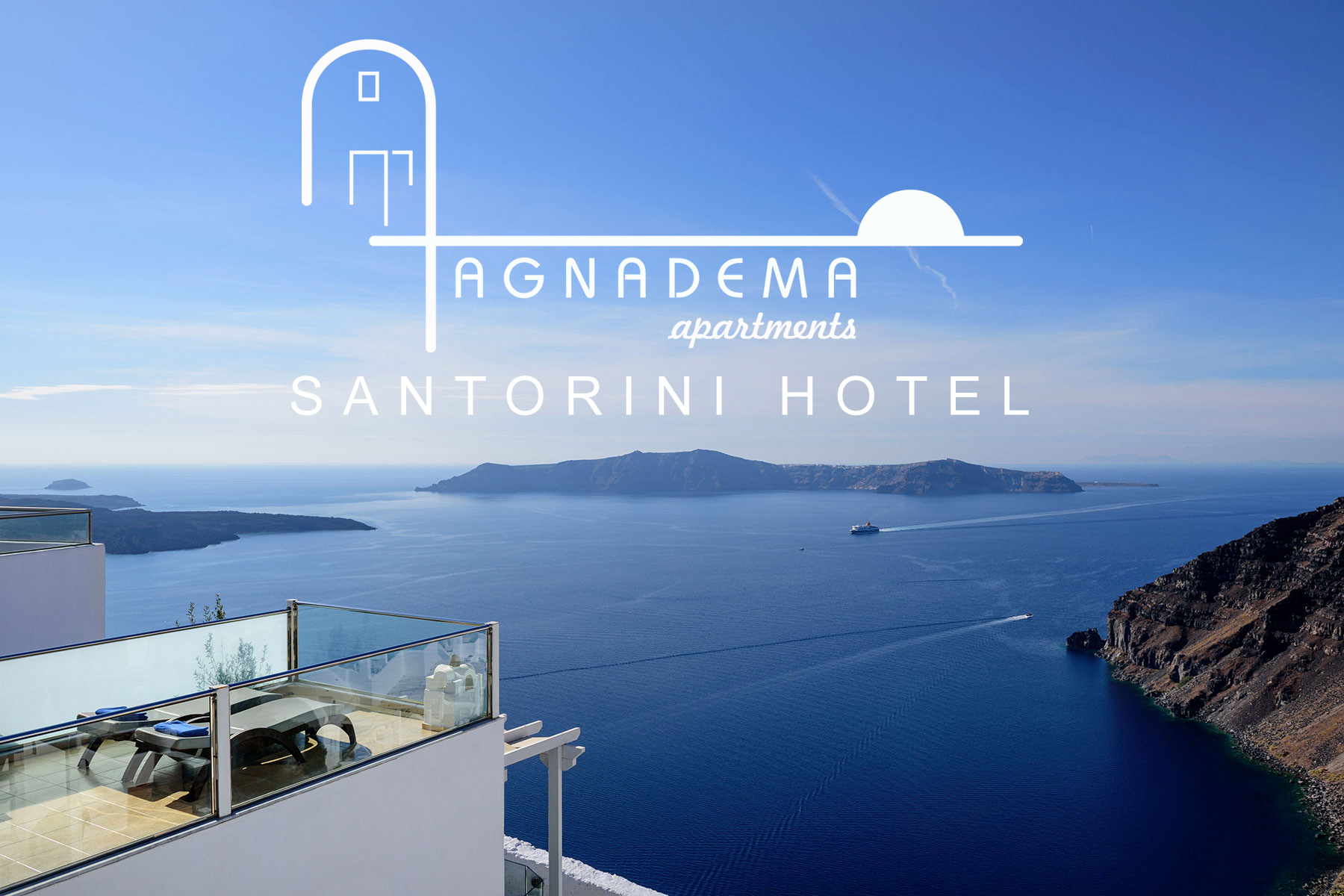 Agnadema Santorini Apartments Hotel Firostefani Located In A Magnificent Spot Right The Heart Of Caldera