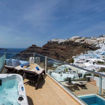 Delux Suite Agnadema Apartment Santorini 20